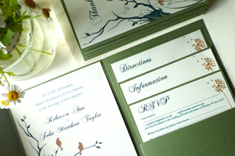 338 wedding invite