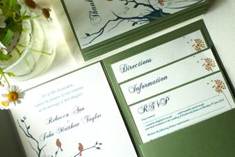 338 wedding invite
