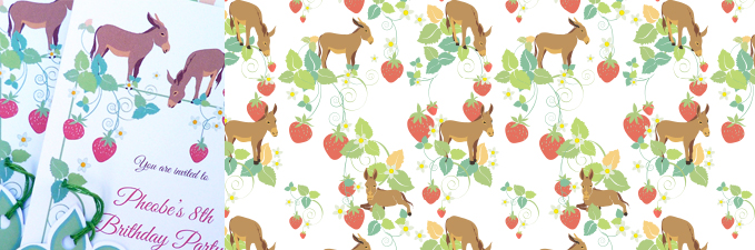 pattern-strawberries