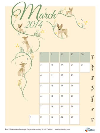 Calendar-2014_March