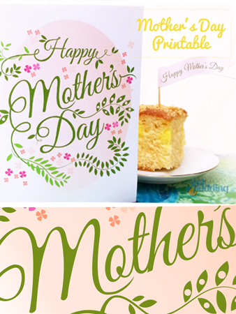 Mother's day printable pic